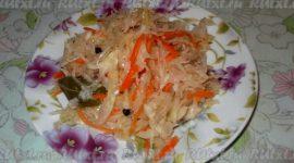 Рецепт квашеной капусты в домашних условиях