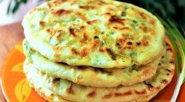 Рецепт лепешки с сыром на сковороде