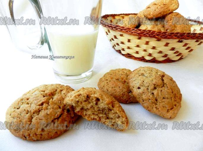 Рецепт овсяного печенья в домашних условиях печенье было более