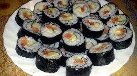 Рецепт роллы в домашних условиях с фото пошагово