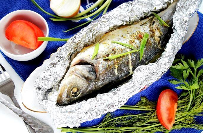 Рецепт рыбы в фольге в духовке соевом соусе пищевой фольгой