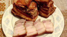 Рецепт сала в луковой шелухе с пошаговым фото