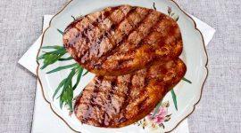 Рецепт стейка из свинины на сковороде
