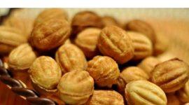 Рецепт теста для орешков в форме со сгущенкой