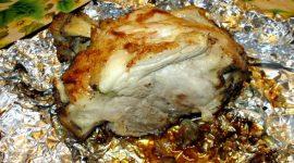 Рулька свиная запеченная в фольге в духовке