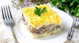 Салат мужские грезы с говядиной рецепт с фото