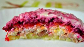 Салат под шубой классический рецепт с фото пошагово