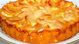 Шарлотка на ряженке с яблоками рецепт