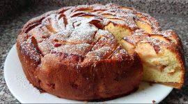 Шарлотка с яблоками рецепт без разрыхлителя