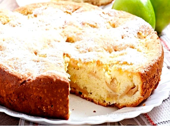 Шарлотка в духовке с яблоками рецепт с фото Хотите, чтобы выпечка получилась пышная