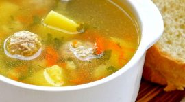 Суп с лапшой и фрикадельками рецепт