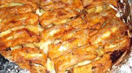 Свиные ребра в духовке с картошкой