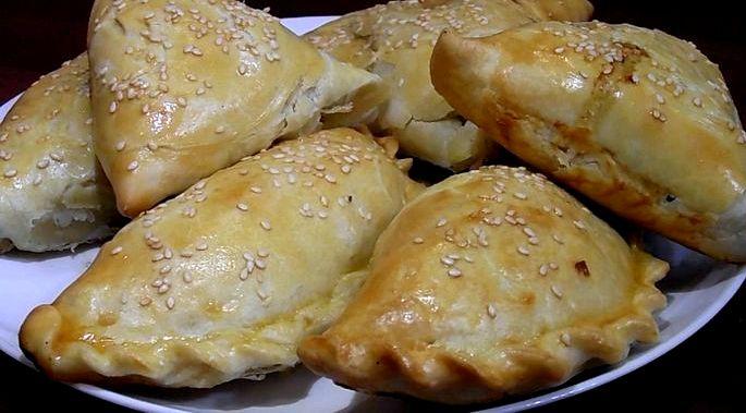 Тесто для самсы рецепт приготовления в домашних условиях Кубики очищенного картофеля, залейте холодной