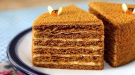 Торт медовик классический рецепт с фото пошагово со сгущенкой