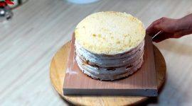 Торт молочная девочка рецепт с фото пошагово в домашних условиях