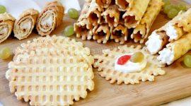 Вафли в вафельнице рецепт с фото пошагово